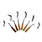 CT-B - Set of 6 carving tools 160mm